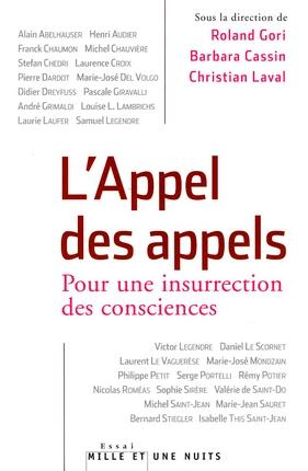 L'Appel des Appels, le livre